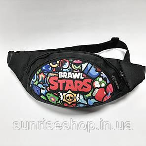 Поясная детская сумка бананка  Brawl Stars опт, фото 2