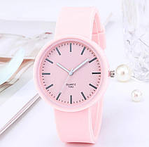 Часы женские силиконовый ремешок 4 цвета, фото 3