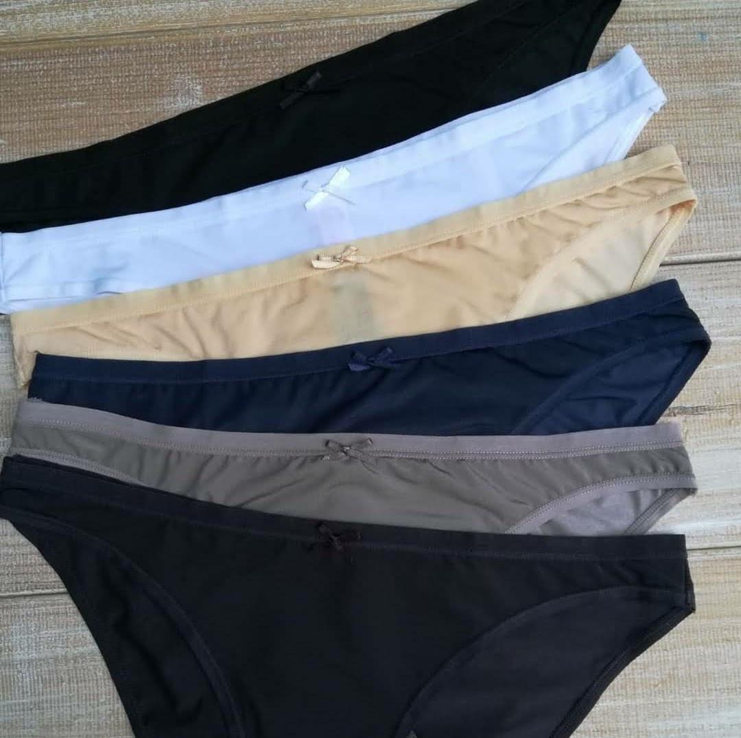 Трусики жіночі LaVivas 50225 сліп тканина мікрофібра, колір Бежевий, розмір L