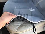 Майки (чехлы / накидки) на сиденья (автоткань) seat leon III (сеат / сиат леон 2012+), фото 6