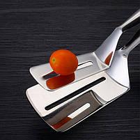 Щипцы для стейка GDAY Z560 из нержавеющей стали зажим кухонный, фото 4