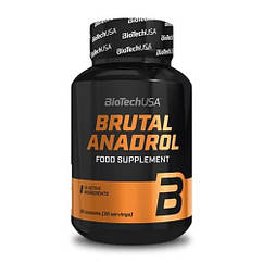 Бустер тестостерона BioTech Brutal Anadrol (90 капс) биотеч