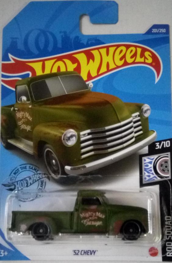 Машинка Hot Wheels 2020 '52 Chevy