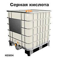 Кислота серная техническая концентрированная 92-94%, 1 сорт, ОПТОМ, в кубах, фото 1
