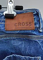 Чоловічі зимові прямі джинси розмір наш 50 ( у-109), фото 3
