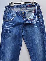 Чоловічі зимові прямі джинси розмір наш 50 ( у-109), фото 2