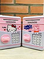 Игрушка, сейф с кодовым замком NUMBER BANK ART-7030, фото 1