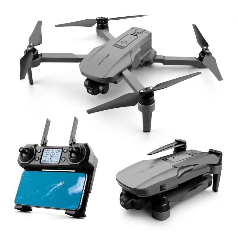 Квадрокоптер ICAT7 с Сумкой GPS, Wi-Fi, 1500м полета, 27мин