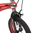 Велосипед детский Lanq-Projective 14Д. красный WLN1439D-T-3F, фото 4