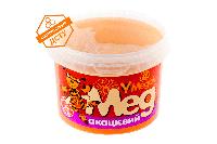 Акациевый мед 0.5 кг.Обладает целым рядом различных целебных свойств.