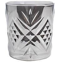 Набор низких стаканов Luminarc 300мл 4шт Зальцбург сияющий графит 9320