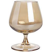Набор бокалов для коньяка Luminarc 2шт 410мл золотой мед P9308
