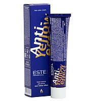 Стойкая крем-краска для волос Estel De Luxe с анти-желтым эффектом 60 мл