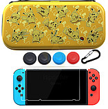 Жесткий чехол iSpoofer с рисунком для Nintendo Switch + Cтекло /, фото 7