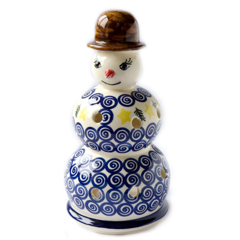 Керамический подсвечник Снеговик Mister Z