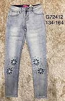 Джинсы для девочек Grace, 134-164 рр. Артикул: G72412 , фото 1