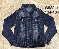 Джинсовая курточка для девочек Grace ,  134-164 рр.  Артикул: G83241 , фото 1