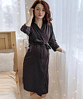 Легкий хлопковый халат женский 2817, фото 1