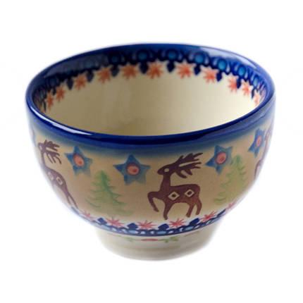 Пиала японская мини 9 Christmas Deer, фото 2