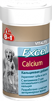 E109402 8in1 Excel Calcium Добавка с кальцием для щенков и собак, 155 шт