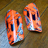 Футбольные щитки  MESSI orange, фото 3