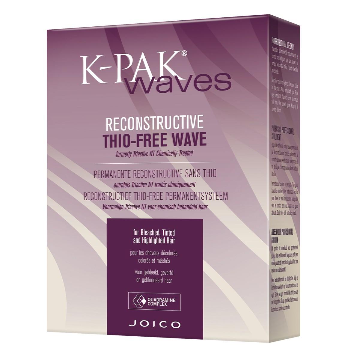 Набор для биозавивки окрашенных и осветленных волос Joico Waves Reconstructive Tio-Free