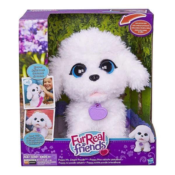 Интерактивная игрушка FurReal Friends Hasbro  Playful Pets Poppy My Jumpin' Poodle Щенок Пудель