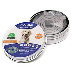Нашийник протипаразитарний для собак Pet 003 Gray 63cm + Box від бліх і кліщів