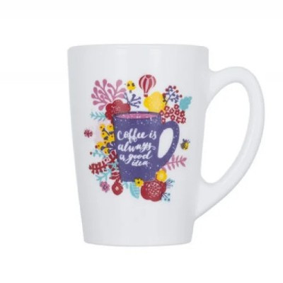 КРУЖКА 320 МЛ LUMINARC COFFE IS ALWAYS P8841