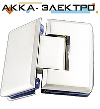 Петля для стекла 135°(стекло-стекло) 203 хром (нержавейка)