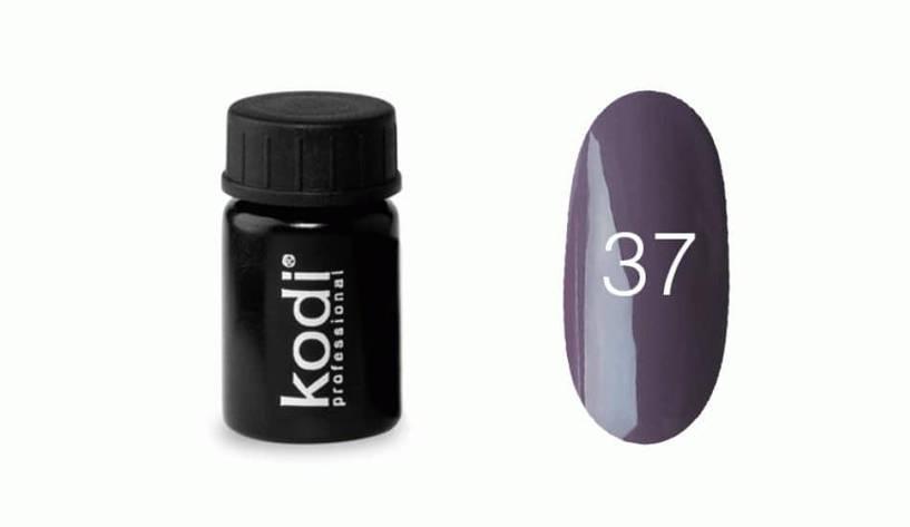 №37 Кольоровий Гель-фарба Kodi professional 4мл, фото 2