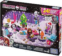 Монстер хай Мега Блокс Адвент-календарь Monster High Mega Bloks  Advent Calendar DPK33, фото 1