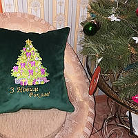 Подушки на Новый год