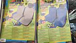 Майки (чехлы / накидки) на передние и задние сиденья (х/б ткань) Daewoo racer (дэу/деу/део рейсер 1987г+), фото 9