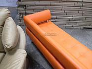 Офисный диван в офис Стронг (MebliSTRONG) - оранжевый матовый цвет, фото 7