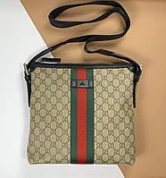 Плоская сумка-мессенджер Gucci (Гуччи) арт. 16-32