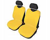 Майки (чехлы / накидки) на передние и задние сиденья (х/б ткань) Citroen С2 3D (ситроен с2 2003-2009), фото 4