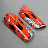 Футбольные щитки  MESSI orange, фото 7