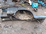Крыло заднее правое  ВАЗ 21099  с аркой и  лонжероном б у, фото 3