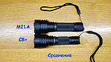 Дальнобойный фонарь ConvoyM21A Luminus SST-40 6500K новый драйвер 12 групп с термоконтролем, desert tan, фото 3