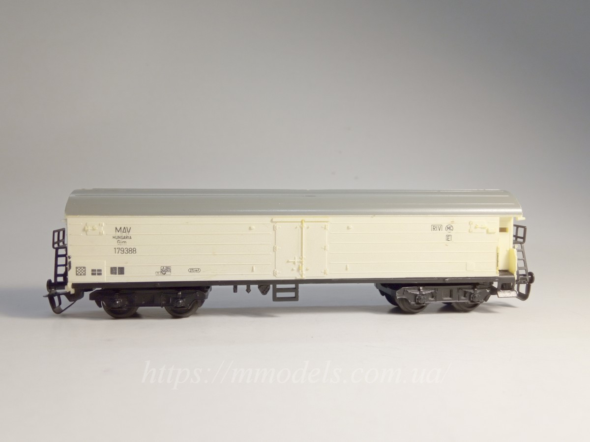 BTTB 4х осный вагон ледник принадлежности MAV, масштаба 1:120, ТТ