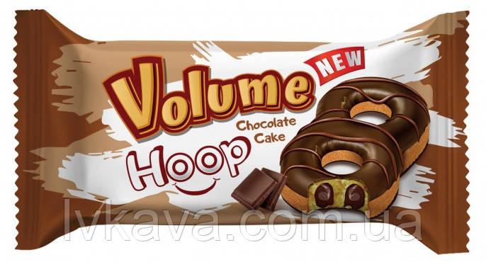 Пирожное-донат  шоколадное Volume Hoop  Cake   , 45 гр