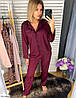 Шёлковая пижама женская рубашка и штаны, фото 3