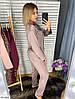 Шёлковая пижама женская рубашка и штаны, фото 7