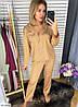 Шёлковая пижама женская рубашка и штаны, фото 8