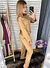 Шёлковая пижама женская рубашка и штаны, фото 9