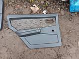Карти дверей ВАЗ 2109 21099 задні передні обшивка оббивка дверей комплект бу, фото 4