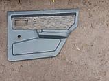 Карти дверей ВАЗ 2109 21099 задні передні обшивка оббивка дверей комплект бу, фото 3