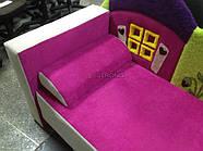 Детский диван с нишей для ребенка Теремок - розовый цвет, фото 2