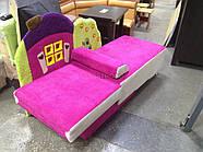 Детский диван с нишей для ребенка Теремок - розовый цвет, фото 4